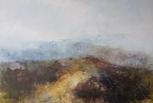 Light Over the Dark Peak by Pauline Rignall